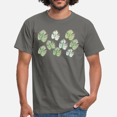 foliage pattern - Men's T-Shirt