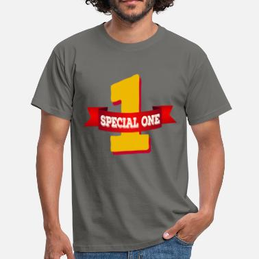 Special Number Special One - The special number one - Men's T-Shirt