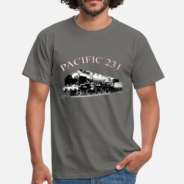 Locomotive PACIFIC 231 A - T-shirt Homme