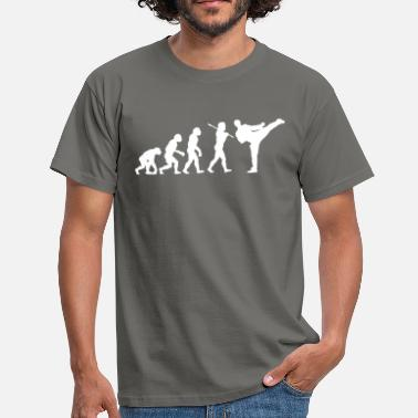 Evolution Martial Arts Martial Arts Kick Evolution - Men's T-Shirt