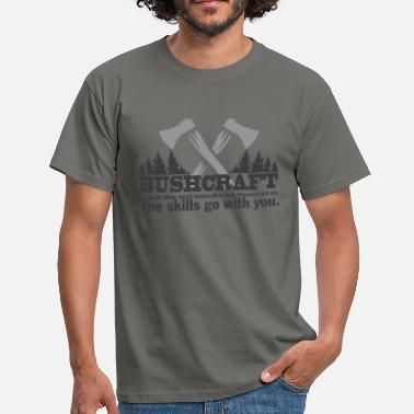 BUSHCRAFT survival  - Männer T-Shirt