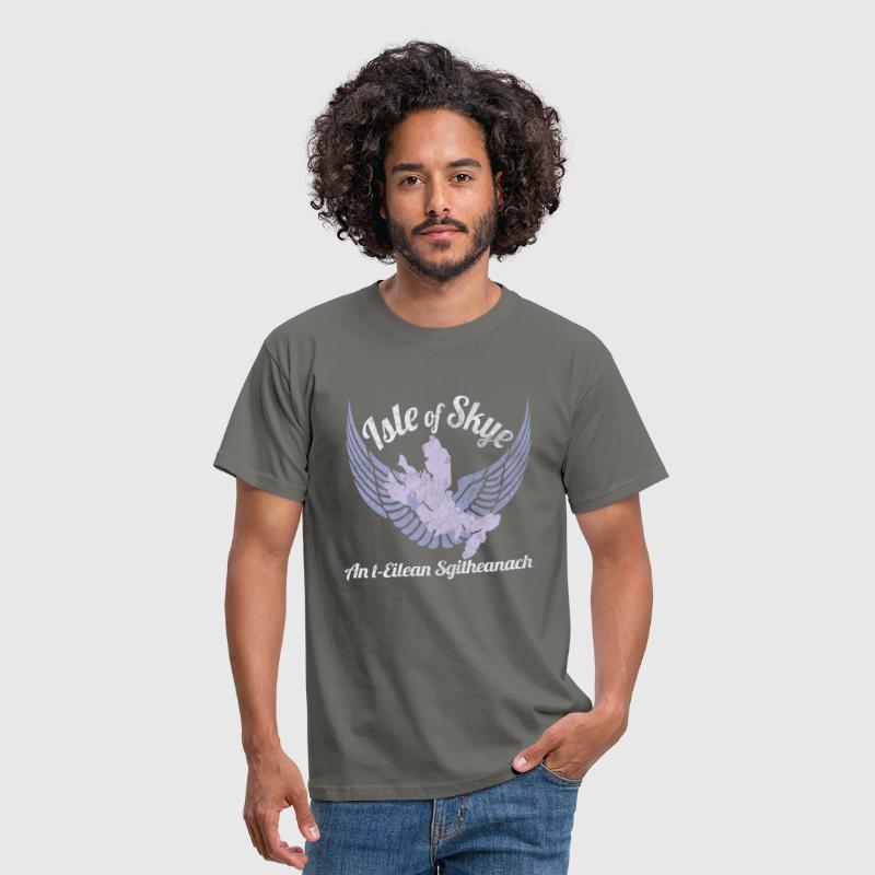 Isle of Skye Winged Isle Design - Men's T-Shirt