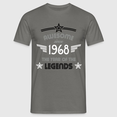 Awesome since 1968 - Männer T-Shirt