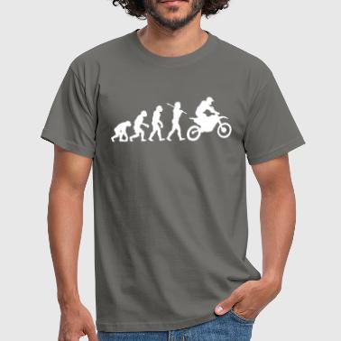 Motocross Evolution MX Motocross Race Evolution - Men's T-Shirt