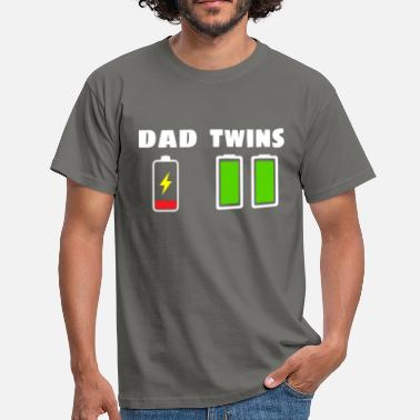 Twins Dad - Twins - Men's T-Shirt