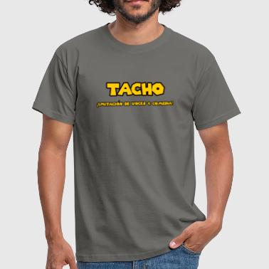 Tacho León - Imitation of voices and comedy - Men's T-Shirt