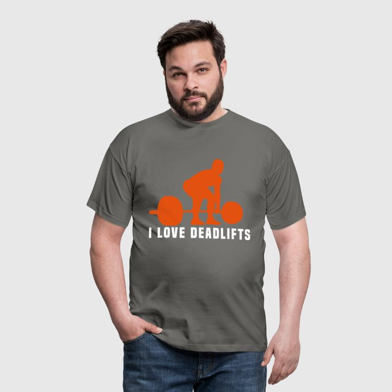 i love deadlifts - Mannen T-shirt