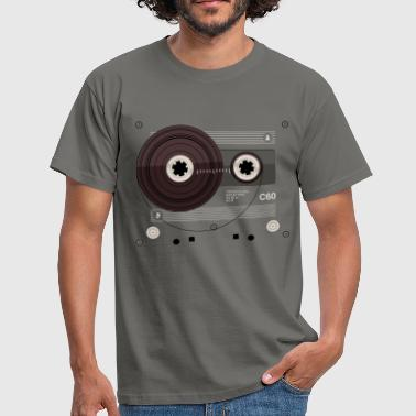 Cassette Tape parts: C60 - Männer T-Shirt