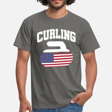 Team Usa USA Curling Team - Männer T-Shirt