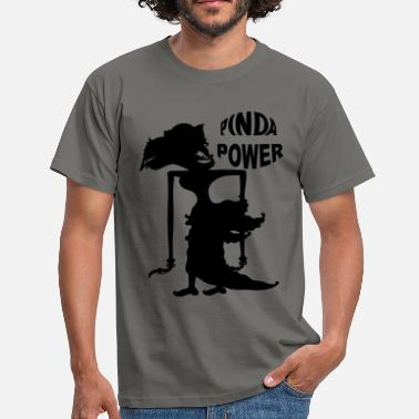 Indo PINDA POWER MANNEN REGULAR - Mannen T-shirt