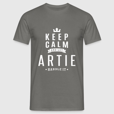 Let Artie Handle It! - Men's T-Shirt
