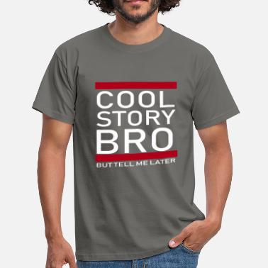 Cool Story Cool Story Bro - Blanco - Camiseta hombre