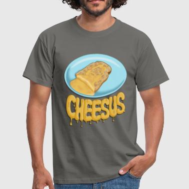 Cheesus - Men's T-Shirt