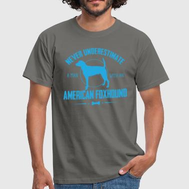 Dog American Foxhound NUM - Men's T-Shirt