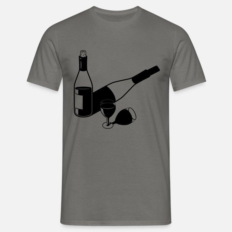 wijnglas voor op fles