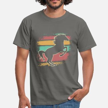 Ross Horse Ross riding equitation - Men's T-Shirt