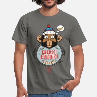 Hungry Monkey - T-shirt Homme