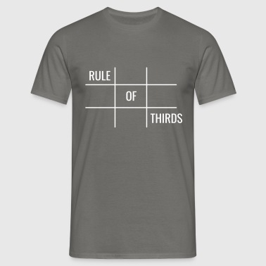 Rule of Thirds - Mannen T-shirt
