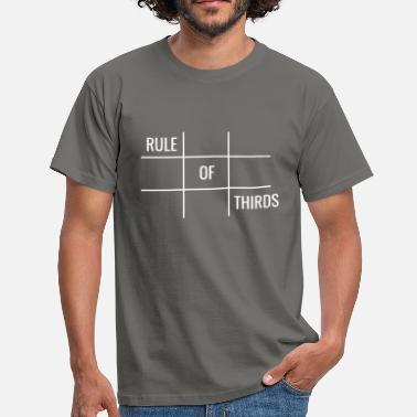 Film Photography Rule of Thirds - Men's T-Shirt