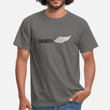 Wing Right wing - Men's T-Shirt