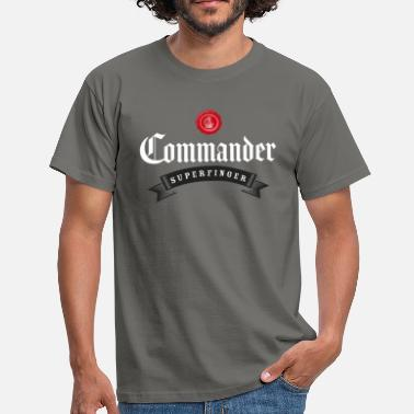 Commander Commander - Men's T-Shirt