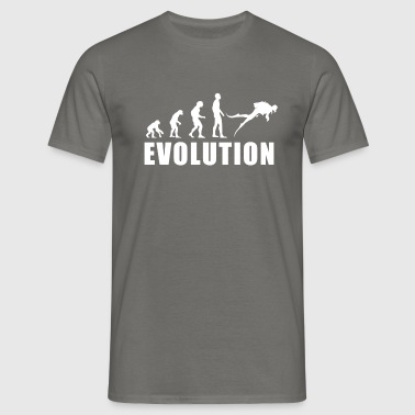EVOLUTION DIVER - Herre-T-shirt