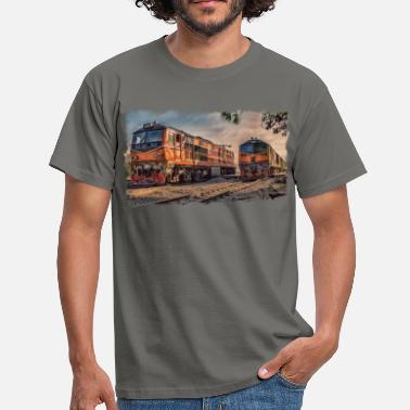 Srt Thai locomotives - Men's T-Shirt