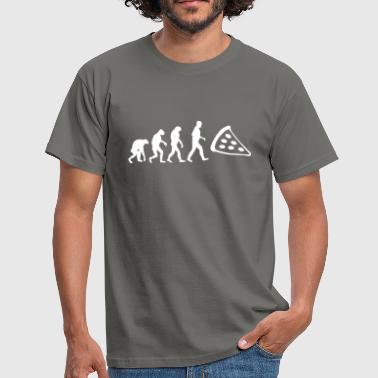 pizza evolution - Männer T-Shirt