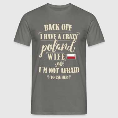 Poland Wife - Männer T-Shirt