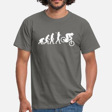 Downhill Mtb NEW MTB DOWNHILL MOUNTAIN BIKE EVOLUTION - Men's T-Shirt