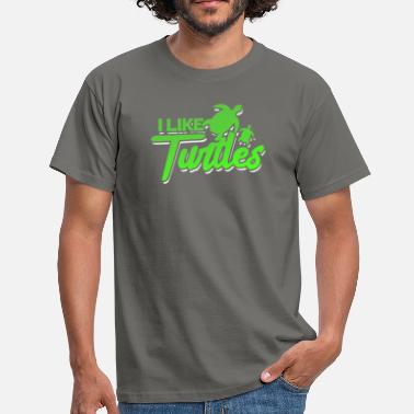Tortues Tortue tortue tortue tortue cadeau - T-shirt Homme