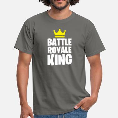 Battle BATTLE ROYALE KING - Mannen T-shirt
