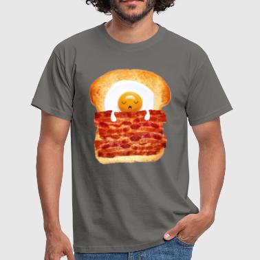 Egg, Bacon & Toast - Mannen T-shirt