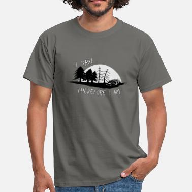 Forestry Sawmill Wood Saws Stemwood Forestry Gift - Men's T-Shirt