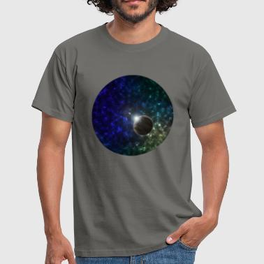 Planets Space and Planet Scene - Men's T-Shirt