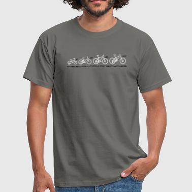 The Evolution of Bicycles - T-shirt Homme