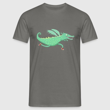 Dragon racing - Mannen T-shirt