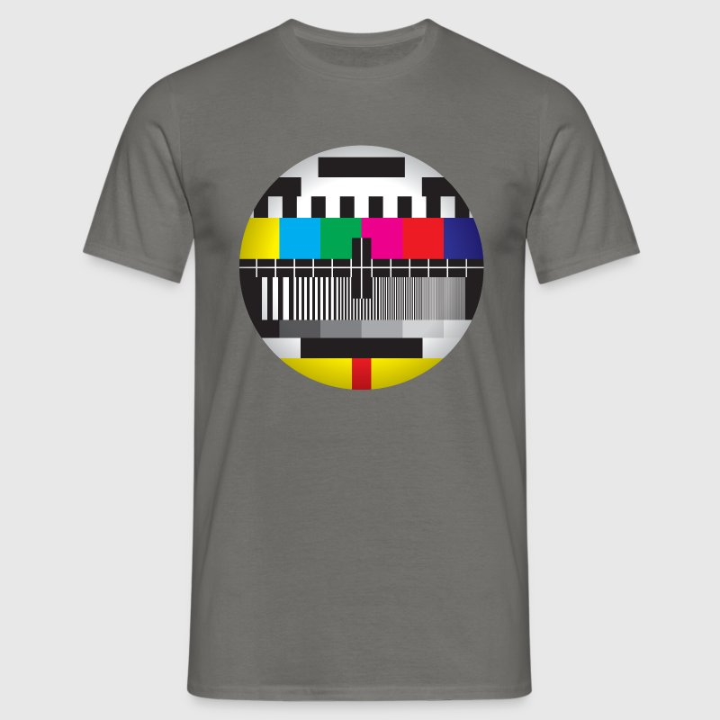 Television Test Card - Men's T-Shirt