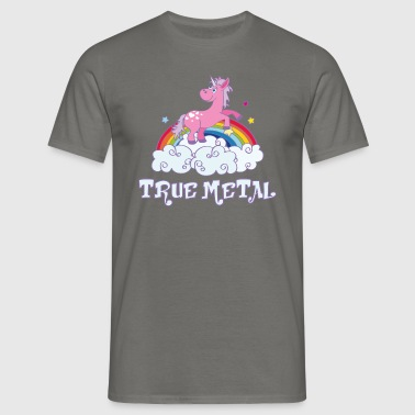 true metal - Männer T-Shirt