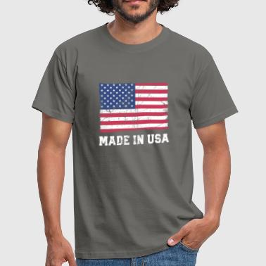 Made In Usa USA Flag / Made in USA - Men's T-Shirt