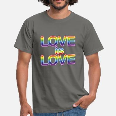 Love is Love - Männer T-Shirt
