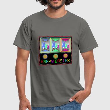 Ost Spiele Ostern / frohe ostern / happy easter - Männer T-Shirt
