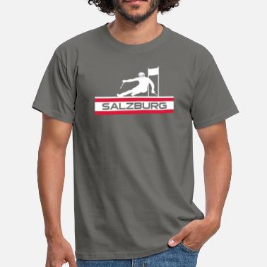 Giant Slalom Ski Alpin_Salzburg - Men's T-Shirt