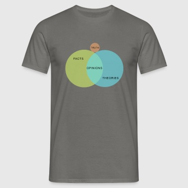 Ven Diagram Truth - Men's T-Shirt