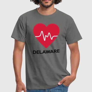 Coeur Delaware - T-shirt Homme