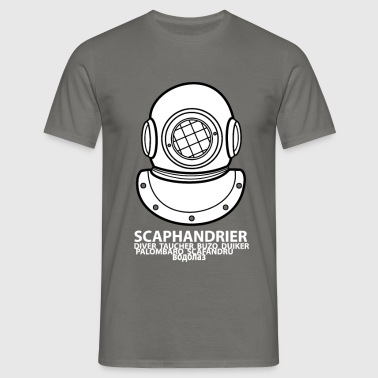 SCAPHANDRIER - T-shirt Homme