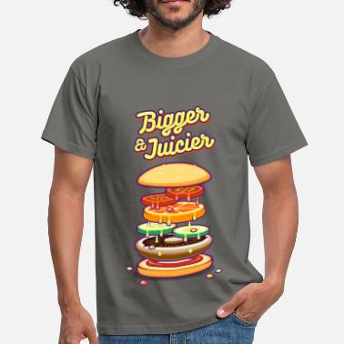 Vegan Bigger & Juicier - Men's T-Shirt