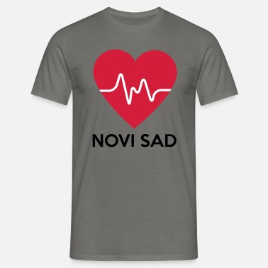 Novi Sad Heart Novi Sad - Men's T-Shirt