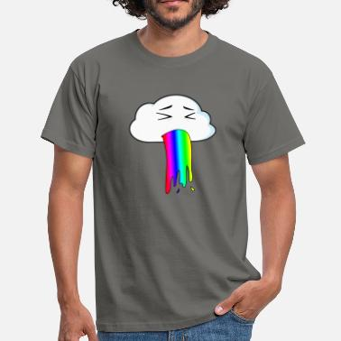 Cloud Rainbow Rainbow cloud - Men's T-Shirt