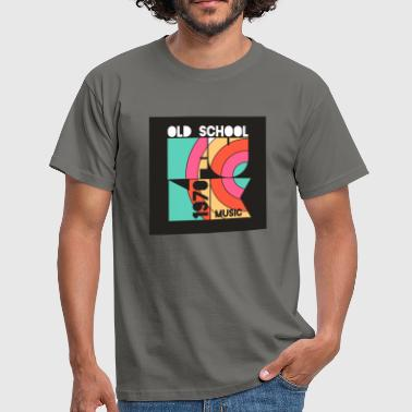 Old School 1970 music - Men's T-Shirt